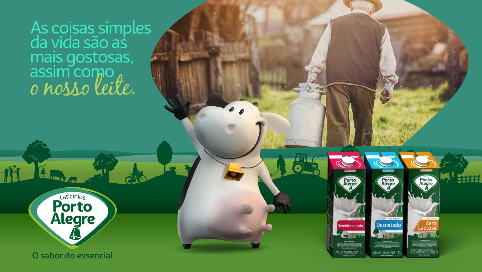 Tela conceito leite